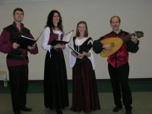 Tim, Kirsten, Laura and Garald at Bayport-Blue Point Public Library